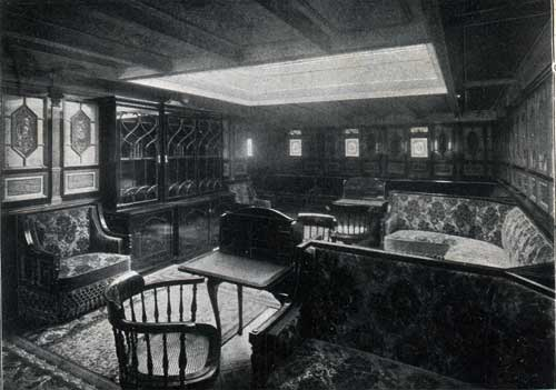 "LIBRARY, STEAMSHIP ""NEW ENGLAND."""