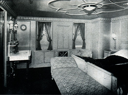 First Class Stateroom of Suite