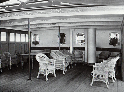 Photo 020: On the Promenade Deck of the S.S. Meteor