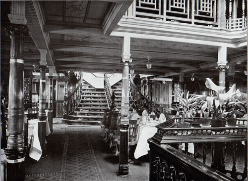 Photo 016: Part of the Upper Dining Hall on the S.S. Oceana