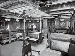 Photo 009: Smoking Room on the SS Prinzessin Victoria Luise