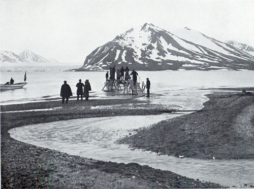 Photo 073: Another view of Passengers boarding tender at Bellsund Fjord, Spitsbergen