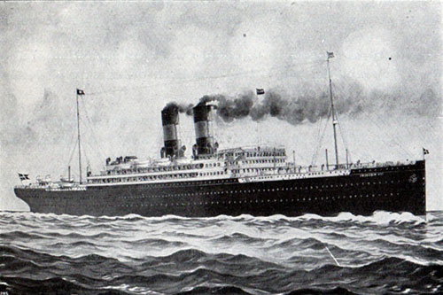 The S.S. Frederik VIII of the Scandinavian American Line