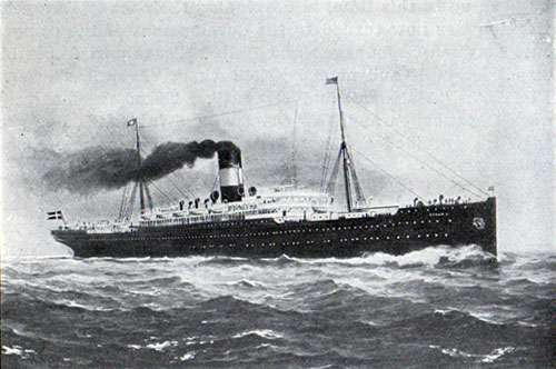 The Oscar II, Hellig Olav and United States Steamships of the Scandianvian American Line