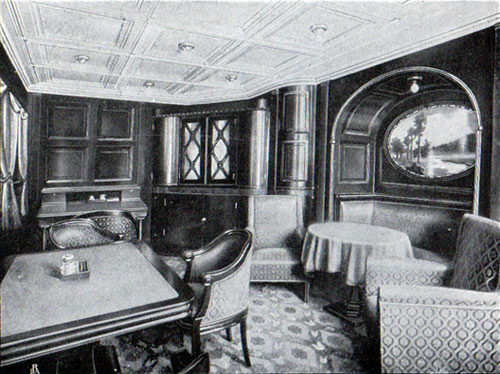 First Cabin Writing Room, Frederik VIII
