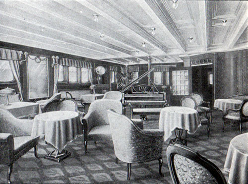 First Cabin Music Room, S.S. Frederik VIII