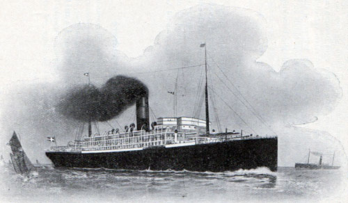 The Steamship SS C. F. Tietgen