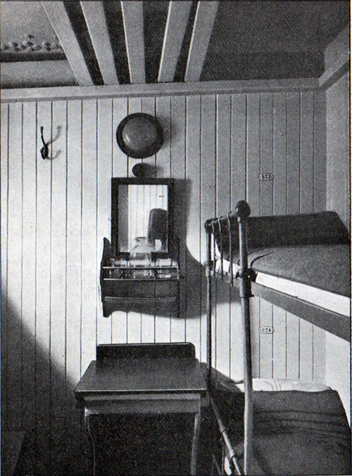 Two - Person Cabin in Third Class