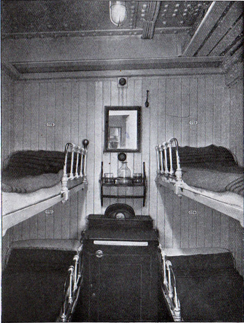 Four - Person Cabin in the Third Class