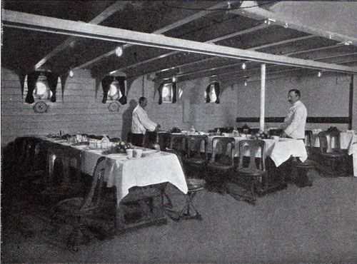 Another View of the Third Class Dining Room