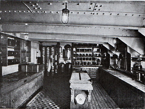 Pantry in the Third Class