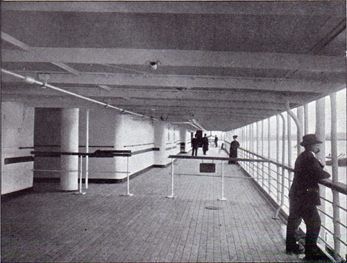 View of the Promenade Deck
