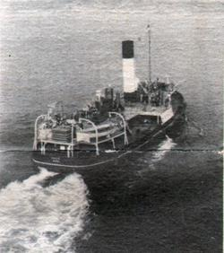 Passengers Headed For Cobh On Roomy Tende
