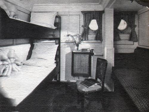 Comfortable Cabin On American Export Line