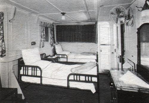 Outside Cabin Class Room President Harding And Rosevelt