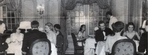 Dining Room On The Manhattan