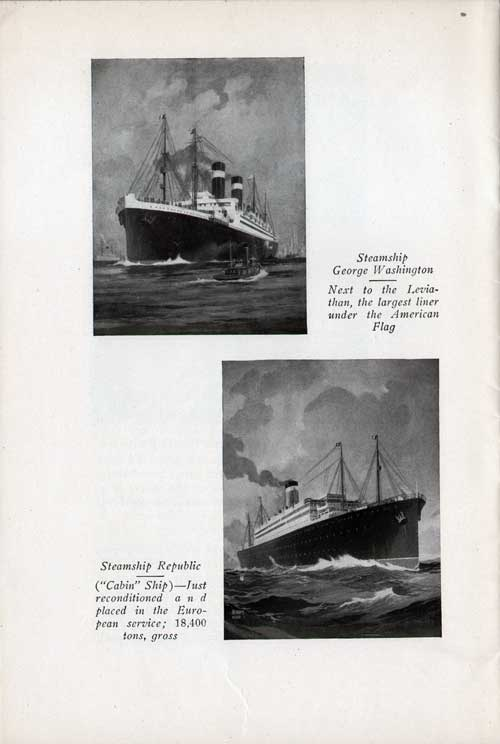 SS George Washington and SS Republic