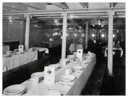 third class accommodations on steamships of the united states