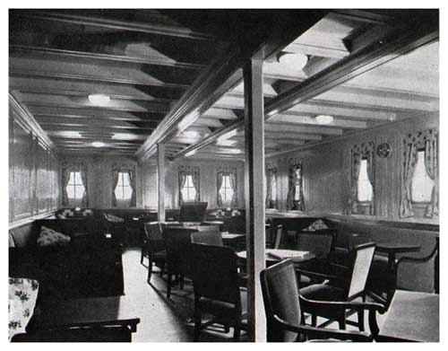 S. S. Leviathan—Ladies' Lounge—Third Class