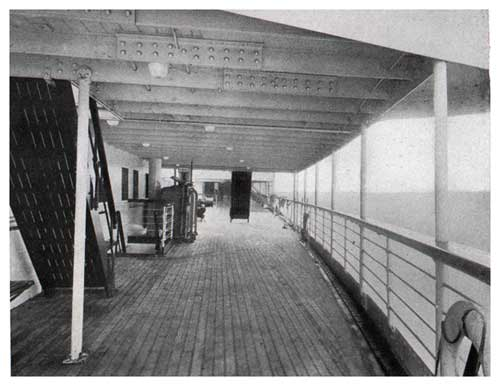 S. S. Leviathan—After Covered Deck—Third Class