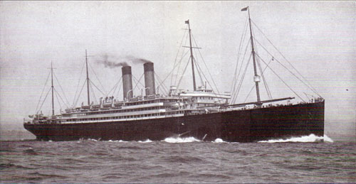 The Cedric of the White Star Line's Big Four