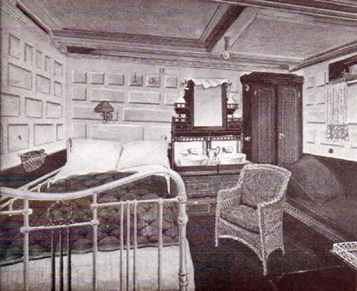 Stateroom, with double bed