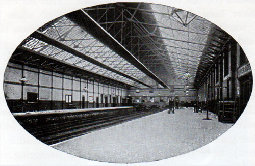 Interior View of the Riverside Station, Liverpool