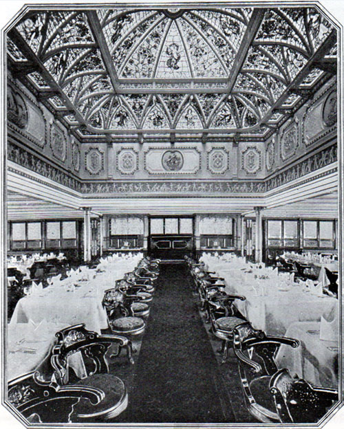 Celtic First Class Dining Saloon