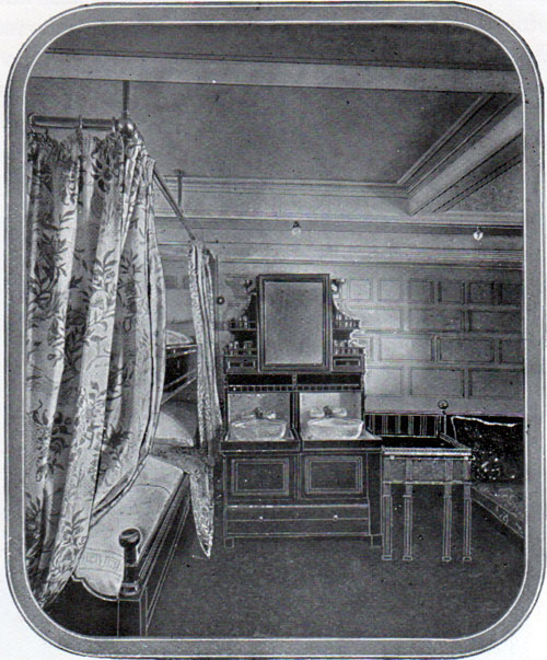 Cedric and Celtic First Class Stateroom