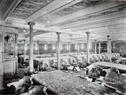 First Class Dining Room - R.M.S. Republic