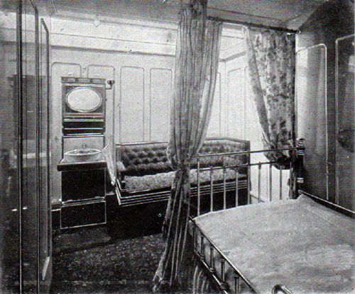 Promenade Deck Stateroom of the R.M.S. Romanic and Canopic