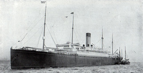 R.M.S. Cymric of the White Star Line