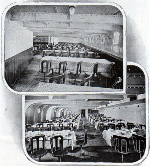 Third Class Reading and Dining Rooms