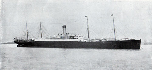 R.M.S. Cretic of the White Star Line