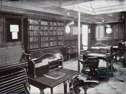 Australian Steamers, Reading Room