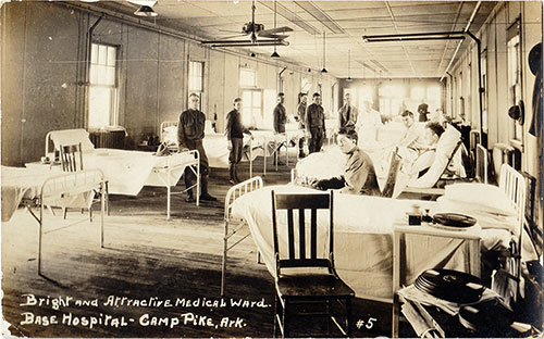 Bright and Attractive Medical Ward at Camp Pike
