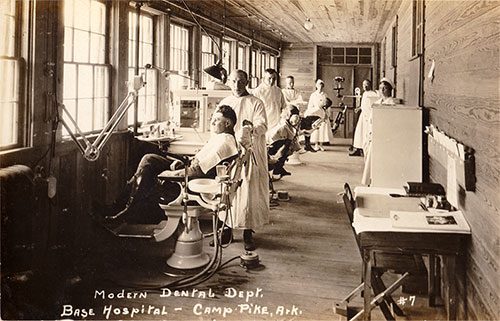 Photo 07: Modern Dental Department at the start of World War I
