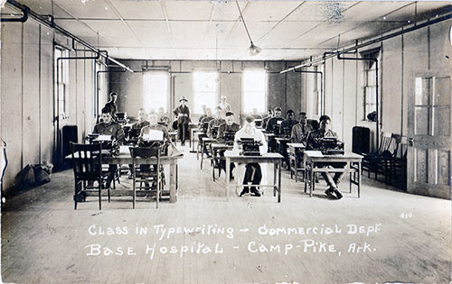 Typewriting Class - Commercial Department