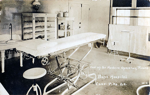 Modern Operating Room at Camp Pike Base Hospital