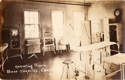 Operating Room at Camp Pike Base Hospital