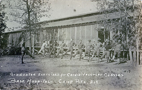 Graduated Exercises for Cardio-Vascular Classes at Camp Pike