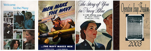 US Navy Archives Collection Collage