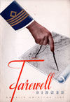 Farewell Dinner Menu, M.S. Gripsholm, Swedish American Line, First Class, 1950