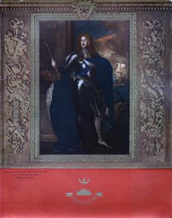 Cover of Luncheon Menu, Cunard White Star R.M.S. Mauretania, 1947