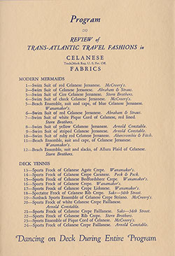 Review of Transatlantic Fashions