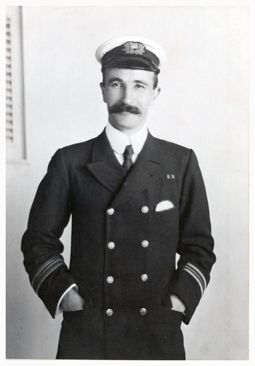 James Stevens, Chief Engineer on the S.S. Windsor Castle