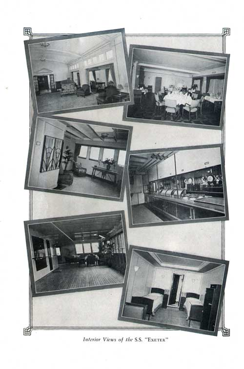 Interior Views of the S.S. Exeter