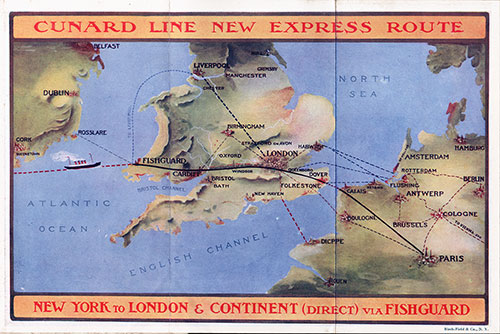 Express Route Map