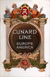Passenger List, R.M.S. Carmania, Cunard Line, July 1914, New York to Liverpool