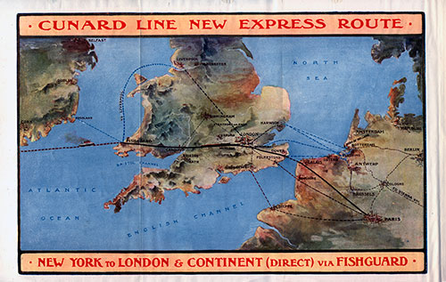 Express Route via Fishguard (1912)